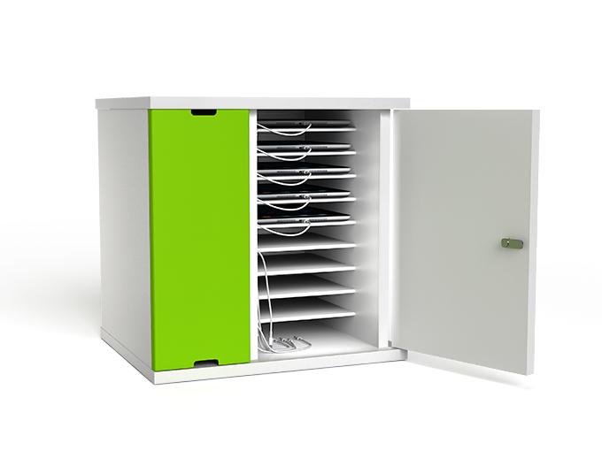 10 bay desktop tablet charging cabinet