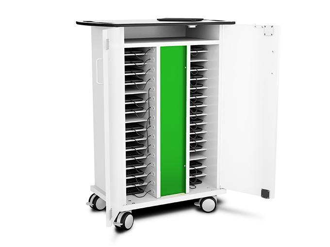 Kindle eReader charging cart